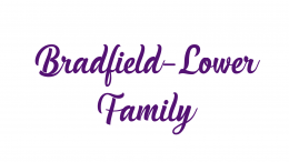 Bradfield-Lower Family